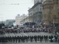 В Минске начали задерживать участников марша