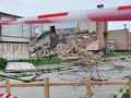 Под Полтавой обрушилось здание спорткомплекса