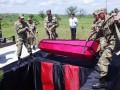 Под Одессой перезахоронили останки 18-ти воинов-героев