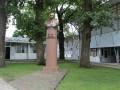 На Полтавщине восстановили декоммунизированный памятник главе СССР