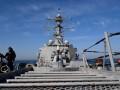 В Черное море вошел ракетный миноносец США