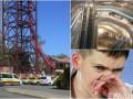 Итоги 25 октября: трагедия на аттракционе в Австралии, допрос Савченко и обновленный ЦУМ изнутри
