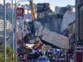 В Италии ввели ЧП из-за обвала моста