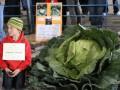 Десятилетний житель Аляски вырастил 42-килограммовую капусту