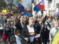 В Черновцах на акции ЛГБТ произошла массовая драка