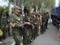 Близ Донецкого аэропорта - концентрация 20 танков и десятка ББМ