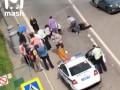 Опубликован момент перестрелки водителя с полицией. 18+