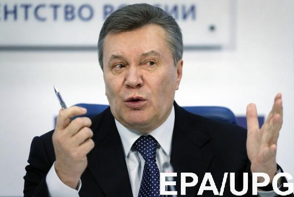 Янукович рассказал, что выезжал за пределы РФ на лечение