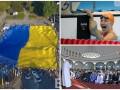День в фото: Гигантский флаг в Мариуполе, победа украинки в Рио и Курбан-байрам в Киеве