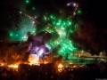 Черный дым и огонь: как прошла ночь 22-23 января на Грушевского (ФОТО)