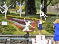 Цветочный фестиваль в Киеве: 10 арт-композиций в честь гениев