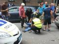 Возле Рады авто-леди сбила