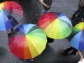 Перед зданием Главной прокуратуры Грузии состоялись акции гей-активистов и их противников