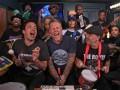 Metallica сыграла на игрушечных музыкальных инструментах