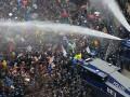 В Берлине во время антикарантинных протестов тяжело ранены трое полицейских