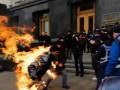 Попытка самосожжения под Офисом президента: Стали известны причины