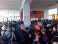 В киевском метро из-за новых жетонов возникла давка