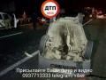 Под Киевом серьезное ДТП с участием мусоровоза