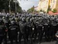 В Киеве полиция и Нацгвардия усилила меры безопасности из-за протестов