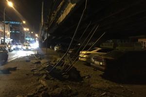 Уволенный зам Кличко рассказал свою версию обрушения моста в Киеве