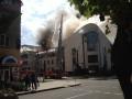 В Донецке произошел пожар в офисе экс-главы ОГА Таруты