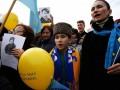 Жители Крыма бегут в Киев целыми семьями
