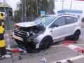 Разбил авто и повредил инфраструктуру: украинец прорывался через границу в Беларусь