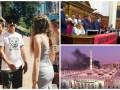 День в фото: блокирование Рады, пожар в Медине и солист RHCP в Киеве
