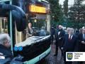 Президента покатали на первом украинском электробусе