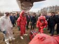 Зеленскому показали вертолет для транспортировки больных коронавирусом