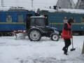 Из-за снегопада задерживаются 30 поездов - Укрзализныця
