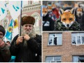 День в фото: протесты в Киеве, обстрел школы в Марьинке и демонстрации в Варшаве
