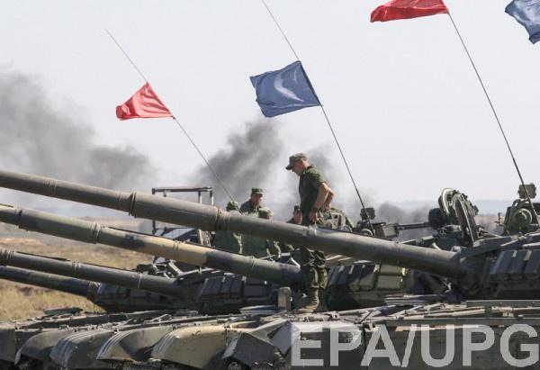 Танки боевиков зафиксировала ОБСЕ