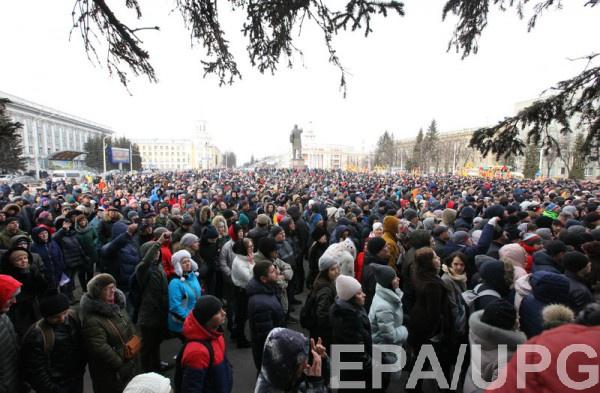 Протесты в Кемерово