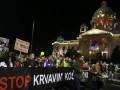 В Сербии прошли антиправительственные протесты