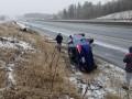 В Канаде из-за снегопадов произошло полтысячи ДТП