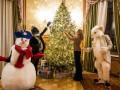 Подарок детям: Первая леди Украины украсила Дом с химерами к Новому году