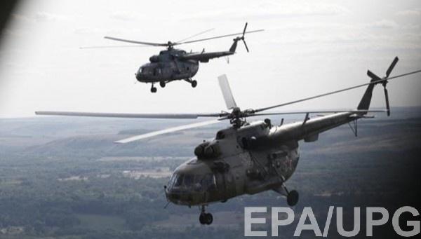При крушении вертолета погибли трое военных
