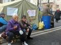 Геращенко: Люди из палаток обыскивают посетителей Рады