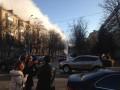 В Киеве прорвало трубу: бьет 10-метровый фонтан