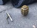 В Киеве полиция задержала мужчину с гранатой