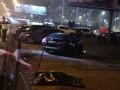 В Киеве Lexus вылетел на тротуар и сбил женщину