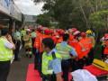 Два автобуса столкнулись в Китае: почти 80 пострадавших