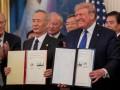 Китай и США подписали первую часть торговой сделки