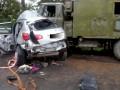 В Тернопольской области Nissan врезался в военных