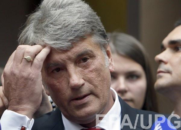 Ющенко уверен, что корень зла в слабом национальном единении украинцев