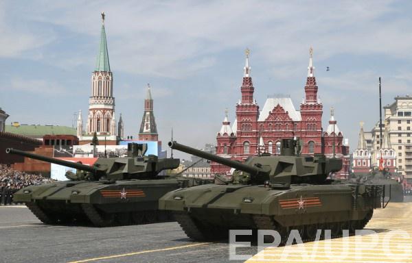 Россия считает Т-14 Армата самым современным танком в мире