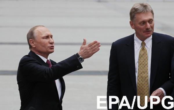 У Путина не получали приглашений на инаугурацию