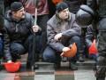 Львовские шахтеры устроили акцию протеста