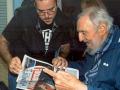 Фото Фиделя Кастро появились в СМИ впервые за полгода